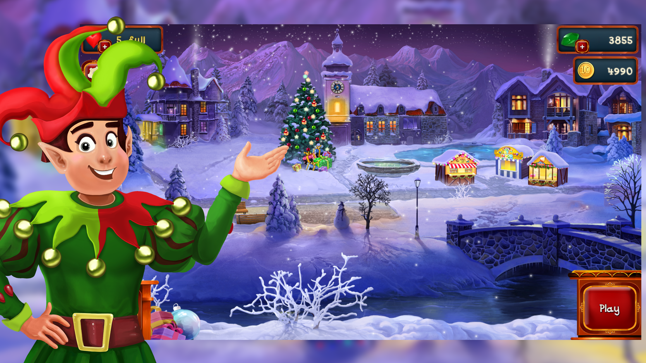 Free Christmas puzzle game for the whole family Image